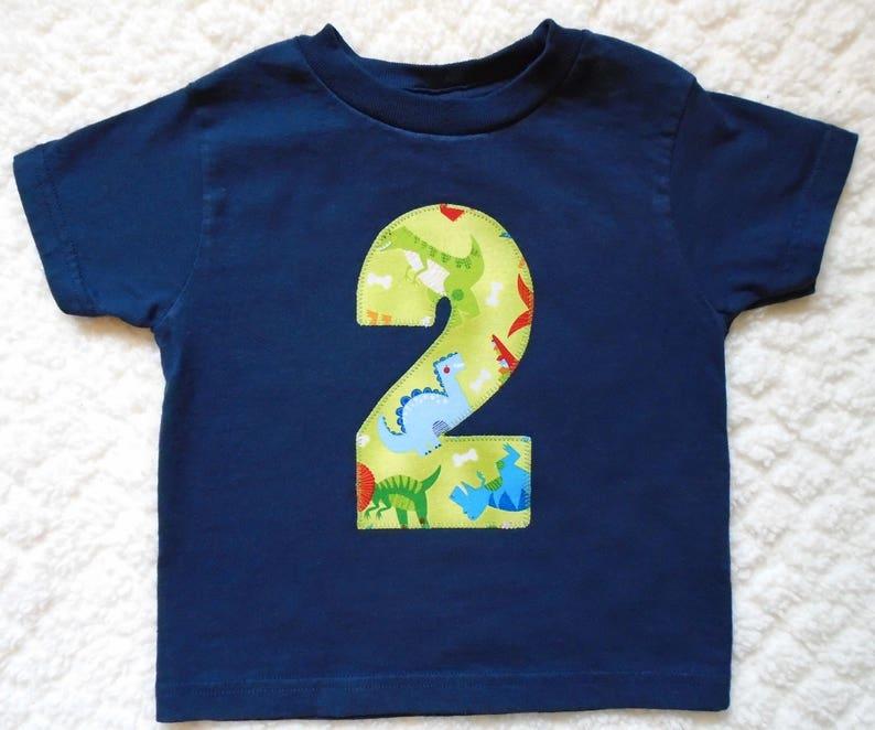 Dinosaur Birthday Shirt Boys 3 Year Old