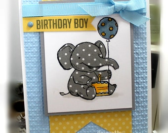 Stampin' Up Birthday Boy Card