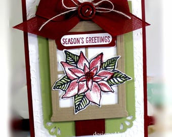 Christmas Card- Stampin' Up Season's Greetings