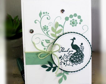 Thank You Card- Stampin' Up Thank You