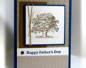 Father's Day Card- Stampin' Up Happy Father's Day