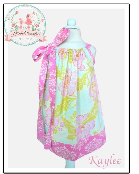 Girls Dress Pattern Pillowcase Dress Pattern Easy Sewing PDF Etsy Interesting Easy Sewing Patterns