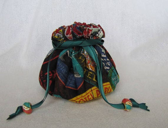 Medium Size INKY DINKY Traveling Jewelry Pouch Tote