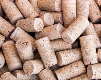 blank wine corks bulk - diy wedding decor and supplies - eco friendly craft supplies