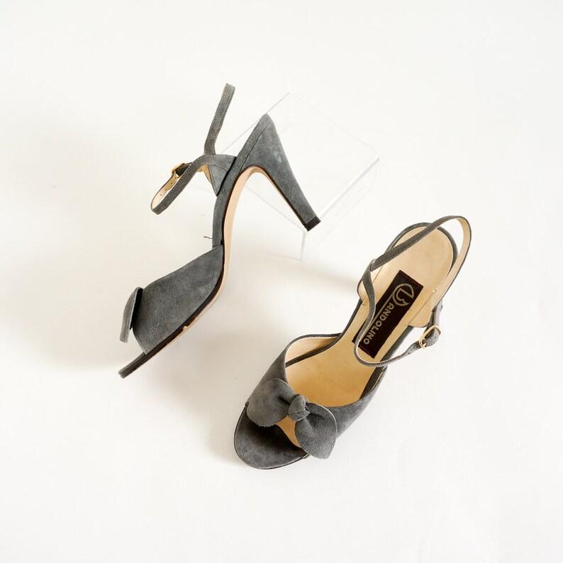 619da008a2e4 Vintage 1970s 80s Womens High Heel Sandals Italian Bandolino