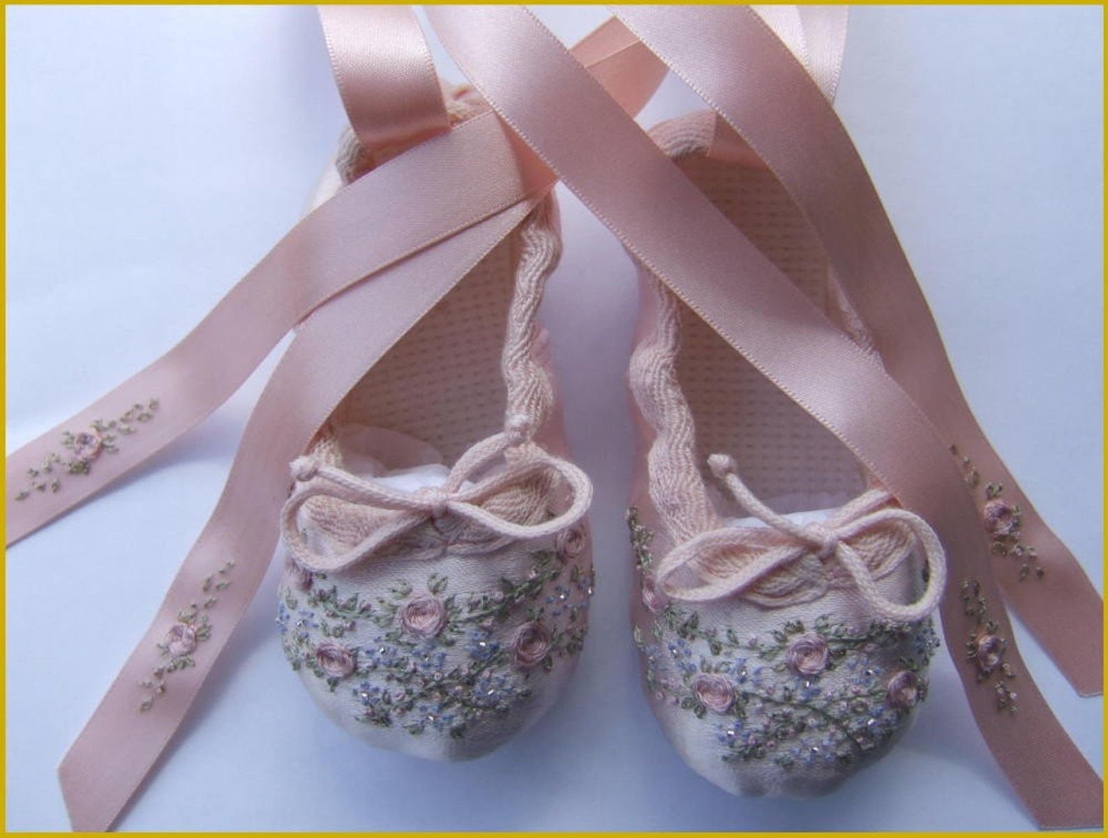 pdf pattern - ballet shoes