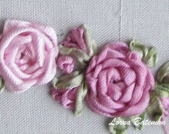 A Taster of Ribbon Embroidery... Silk Ribbon Taster Pack