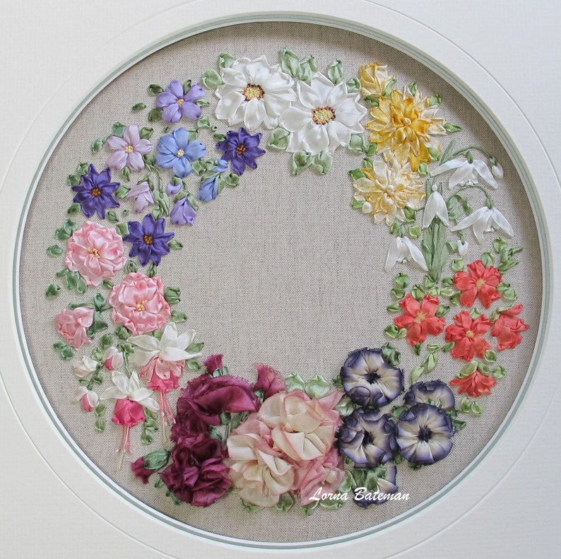 Ribbon Embroidery Pdf