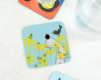 Sunshine Coaster  - Funny Gift For Dog Lovers - Funny Gift  - Weimaraner Dog Gift - Dog Present - Dog Humour - Sunshine Gift