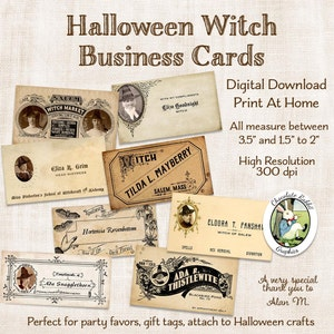 Halloween Witch Broom Besom Label Digital Download Printable Tag Card Clip Art Graphic Fabric Transfer Altered Art Scrapbook Image