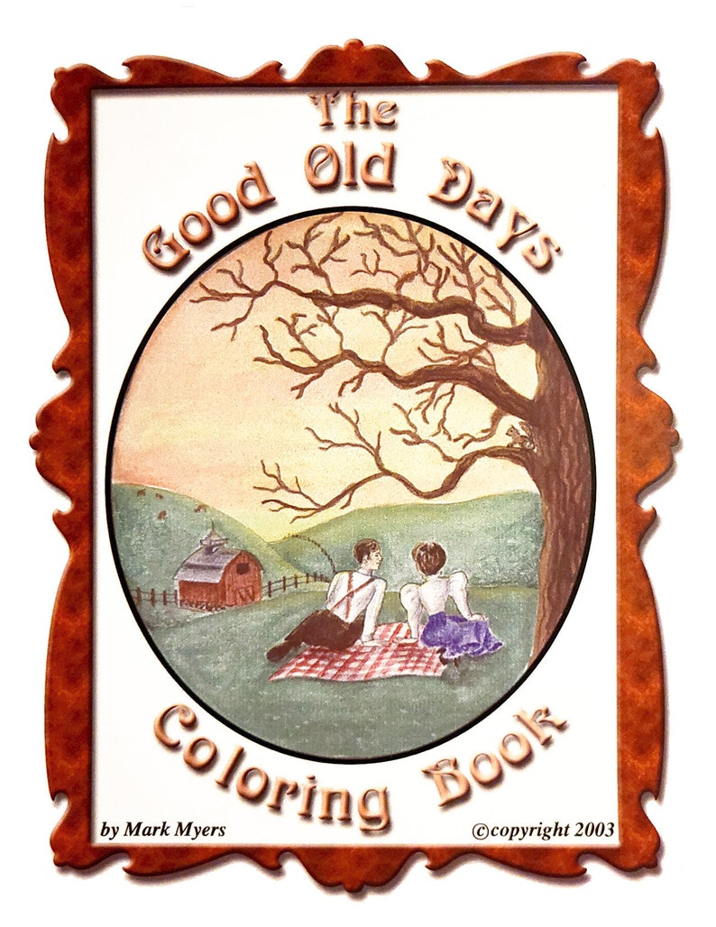 The Good old Days Coloring Book image 0