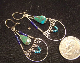 vintage-ear-ring-hand-made-twisted-wire-40-years-old
