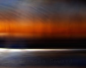 Solstice Sunset III on Hahnemuhle Fine Art Pearl. 8 x 10 inches