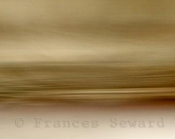 Lingering Light.abstract landscape photo minimalist Fine Art Photograph. Giclee