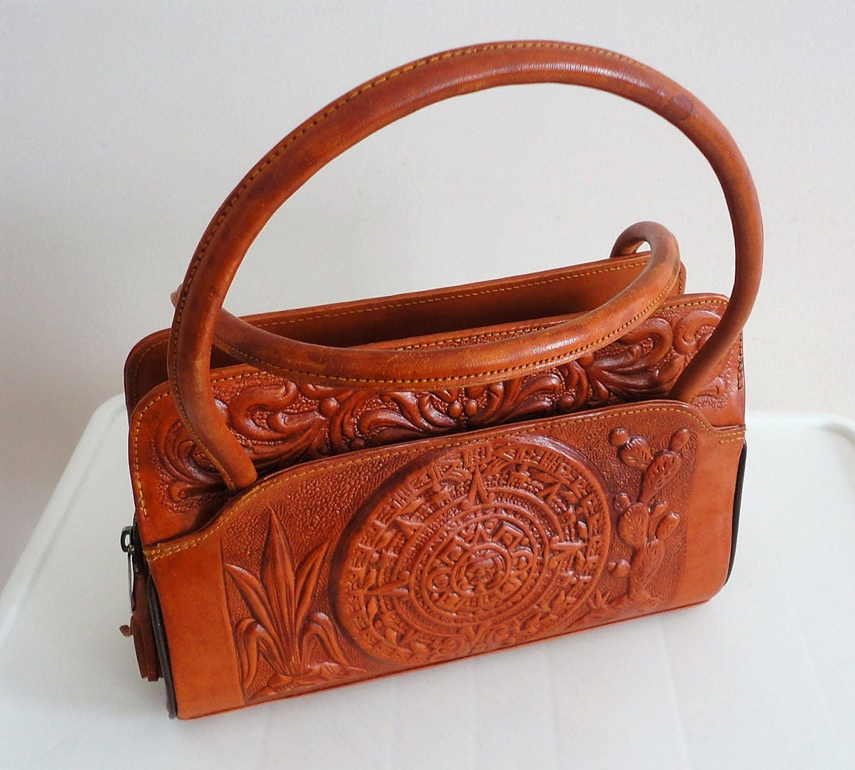 f98228832910 Tooled Leather Handbags Mexico