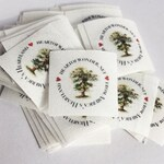 SQUARE  Pre-Cut Branding/Clothing Labels {colorfast/fray-proof/iron-on/sew-in}