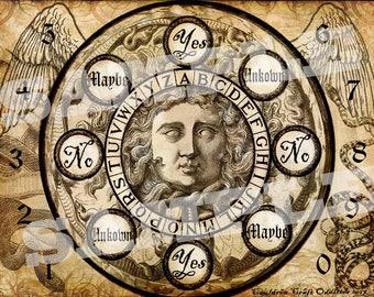 Medusa Pendulum Board - Digital Download emailed to you
