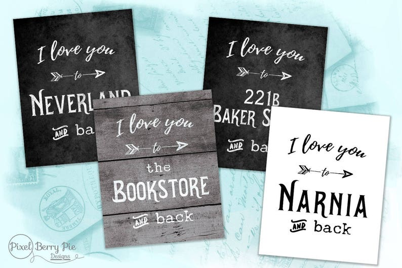 I LOVE YOU to... Storybook Destinations ...and back // image 0