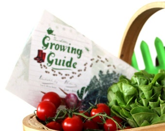 The Little Growing Guide - Kid's Booklet for Food Gardening
