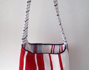 Reversible Summer Beach Bag for Kids