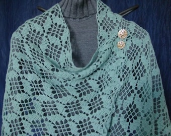Scarborough Fair Shawl crochet pattern pdf