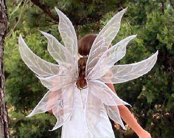 Enchanted Titania adult fairy wings-child costume fairy wings-photography prop