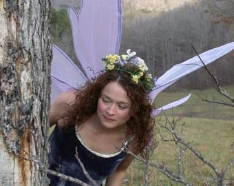 Exotic large Enchanted Adult costume fairy wings