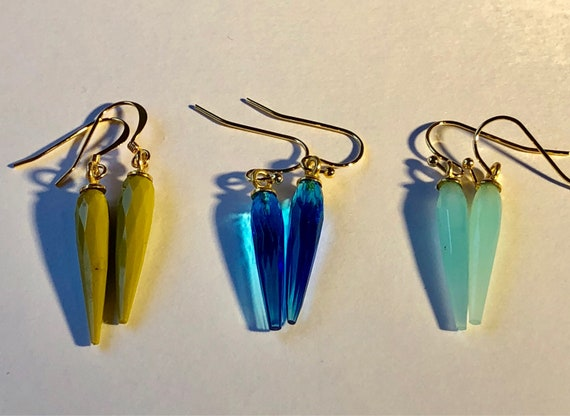 Vintage Glass Drops