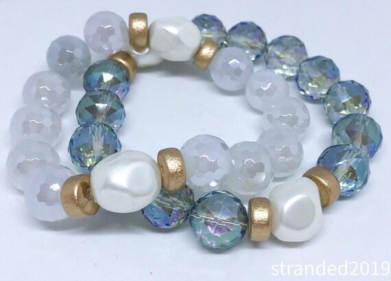 Stretchy Quartz Bracelets