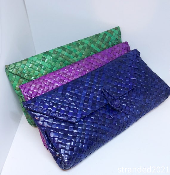 Handwoven  Bamboo Clutches