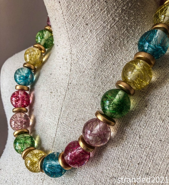 Bubbly Bauble Necklace
