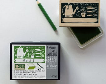 "ON SALE! ""From The Garden Of"" Stamp Activity Kit"