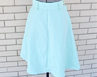 Women's Clothing Carole Little Mint Green Textured Full Longer Skirt Sz 1x Clothing, Shoes & Accessories