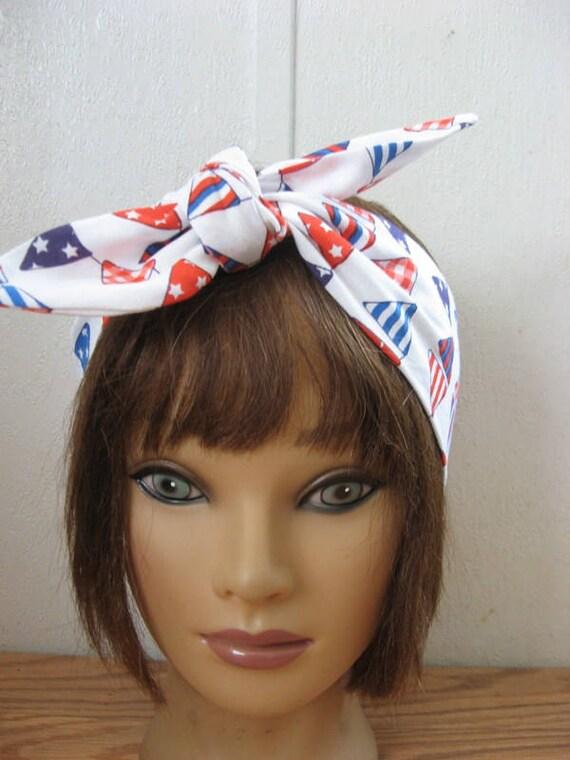 7a9a3422e1f05 Womens Headband Head scarf for women Nautical Hair Band