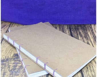 Dotted Coptic Bound Journal