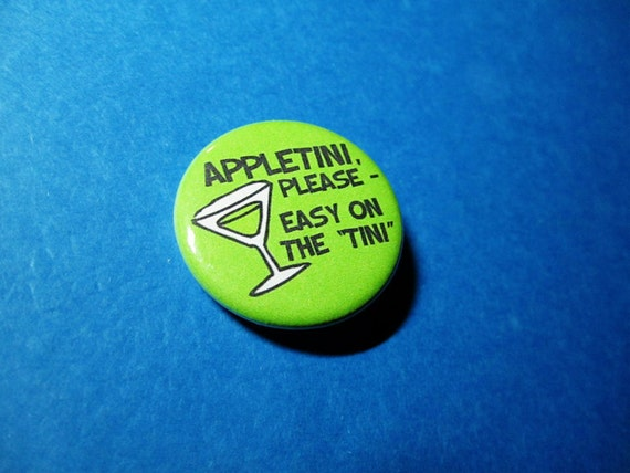 Appletini Jd From Scrubs Pinback Button Or Magnet Etsy