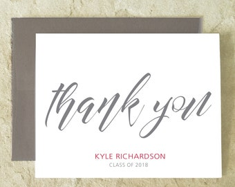 professional thank you card