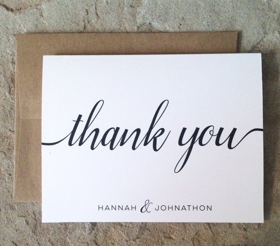 image 0 - Personalized Thank You Cards