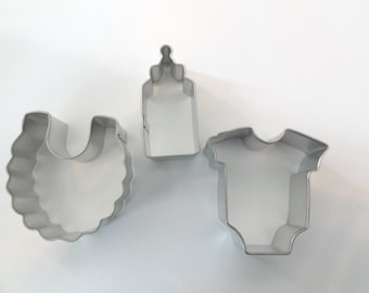 MINI Baby Cookie Cutter set/3