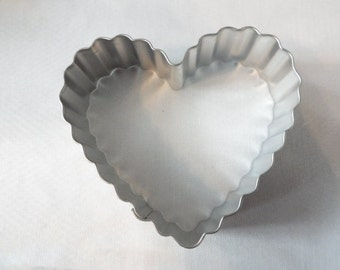 "Fluted Heart Cookie Cutter 3"" (0892)"