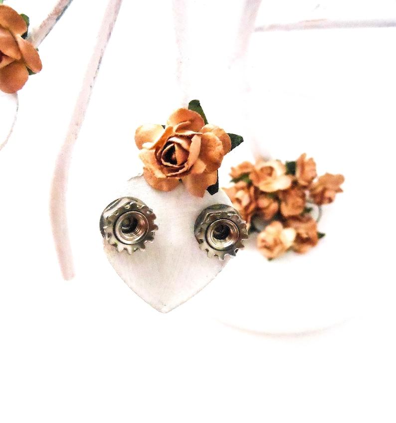 Stud Earrings for Women  Unisex Unique Industrial Modern image 0
