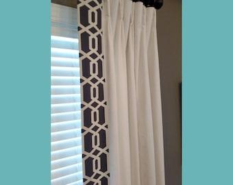 Custom Made Drapery Panels Curtains