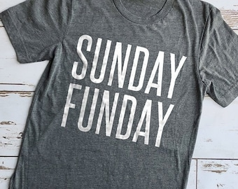 Sunday Funday Shirt, Gifts for Girls, Cute Shirts, Cute Tees, Mom Shirts, Brunch Shirt, Christmas Gifts, Sunday Shirt, Gifts for Women