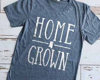 State Pride Shirt, Southern Pride Shirt, State T-shirt, Home Grown Shirt, Fixer Upper Shirt, Modern Farm Shirt, Cute Shirts, Cute T-shirts
