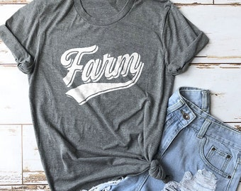 Farm Shirt, Farmer Shirt, Farm Girl Shirt, Gardener Shirt, Farmer's Market Shirt, Farmhouse Shirt, Cute Shirts, Fixer Upper Shirts