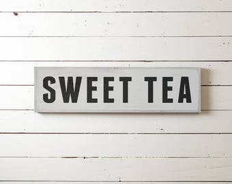 "Wall Sign ""SWEET TEA"" 