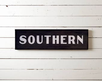 "Wall Sign ""SOUTHERN"" 