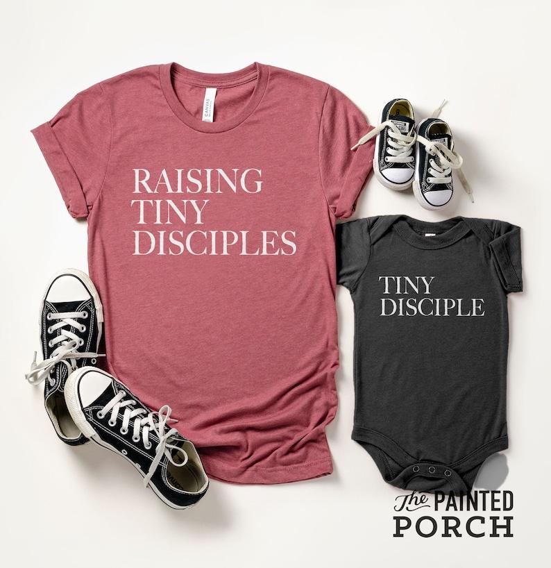 Tiny Disciple Onesie® Tiny Disciple Kids Shirt Disciple image 0