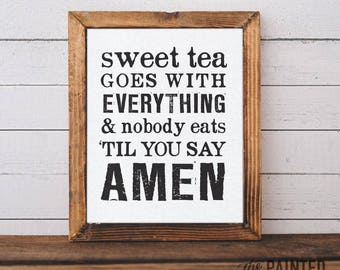 """Southern Art Print 
