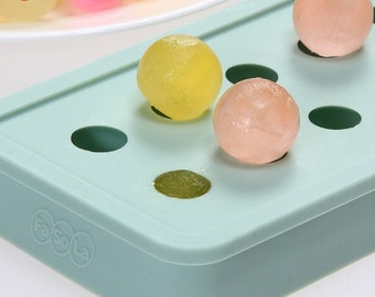 "BALL EMBED Silicone Soap Mold, 20 - 1.7cm (0.67"") Spheres, Holds about 1.5oz, Two Wild Hares"
